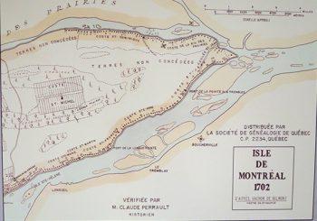 Division des lots en 1702